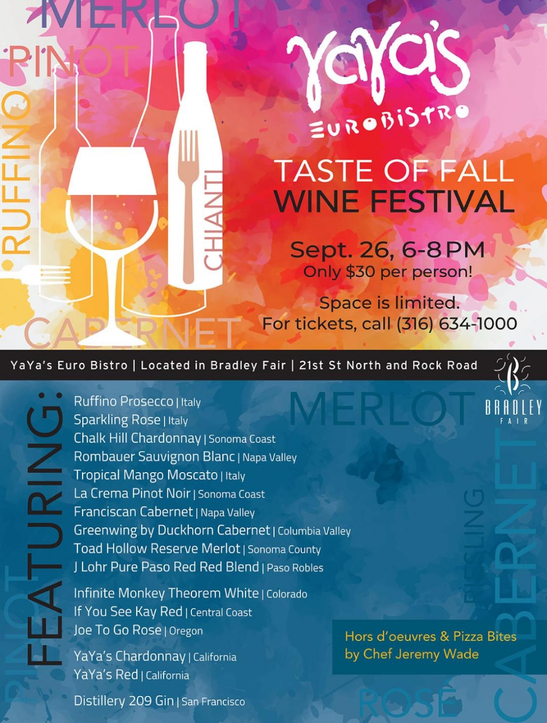 Taste of Fall Wine Tasting 2019